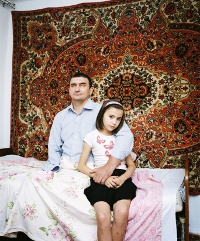 Rob Hornstra. Hamzad Ivloev (44), Nazran, Ingushetia, Russia, 2012